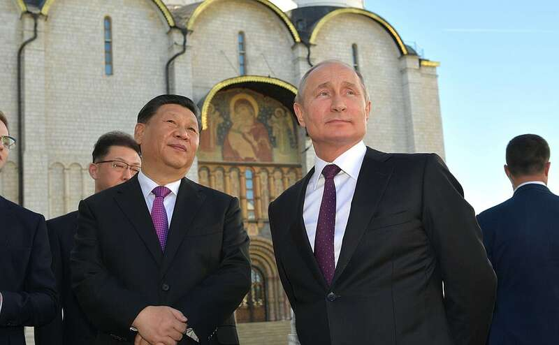 xi and putin in kremlin