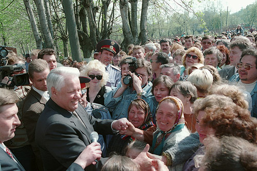 Boris Yeltsin 7 May 1996