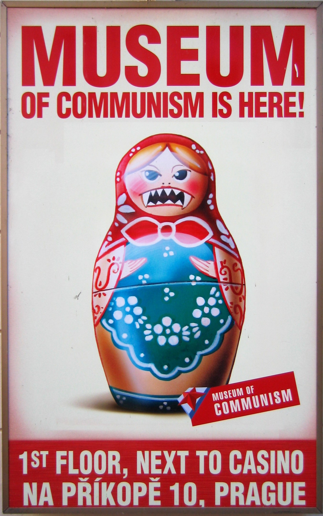 Museum of Communism Poster Prague 2009 2