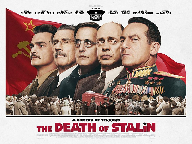 death of stalin affiche