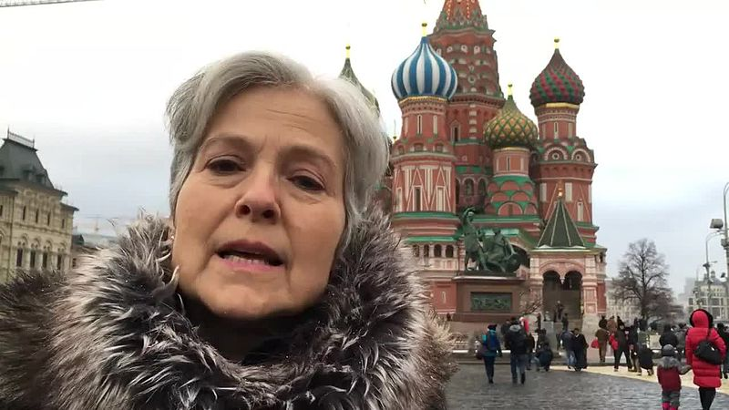 Jill Stein in Red Square