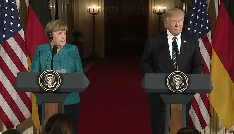 angela merkel donald trump 2017 03 17