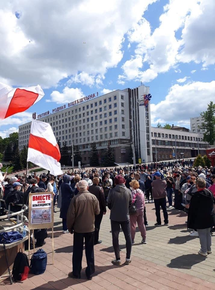 belarus demos minsk 31 may picture twitter