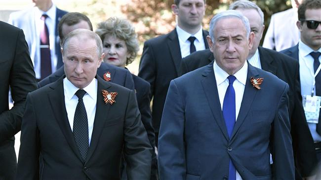 netanyahu and putin may 9