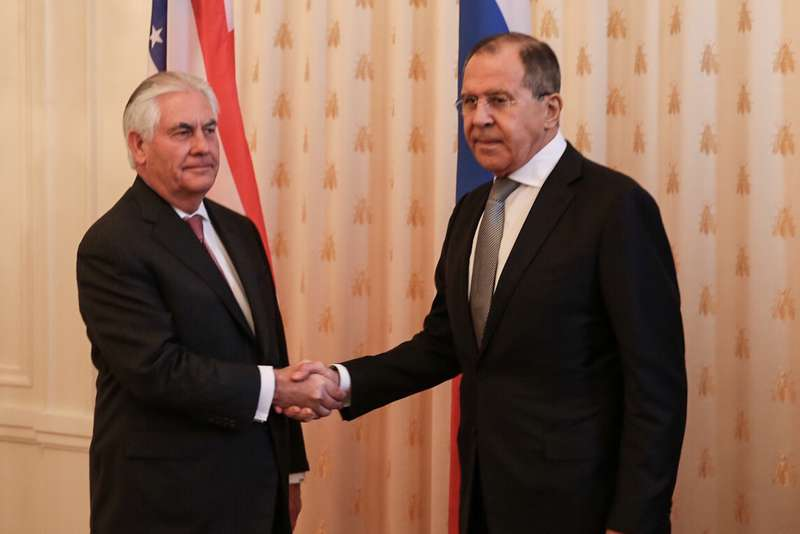 secretary tillerson and russian foreign minister lavrov shake hands before bilateral meeting in moscow 33949986876