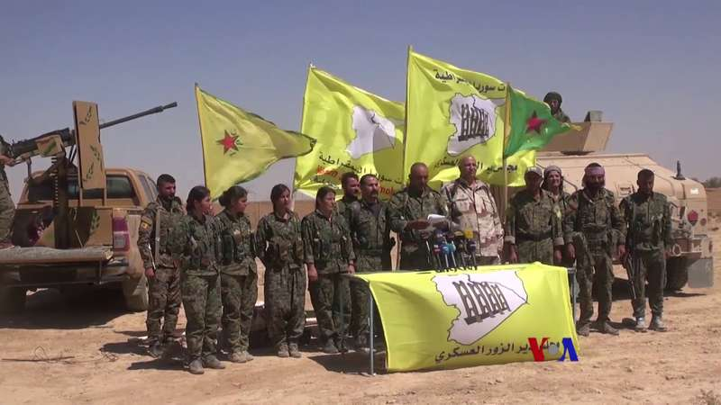 syrian democratic forces announce deir ez zor offensive 2017 wiki