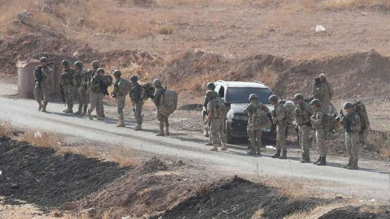 turkish commandos near manbij frontline 14 oct 2019