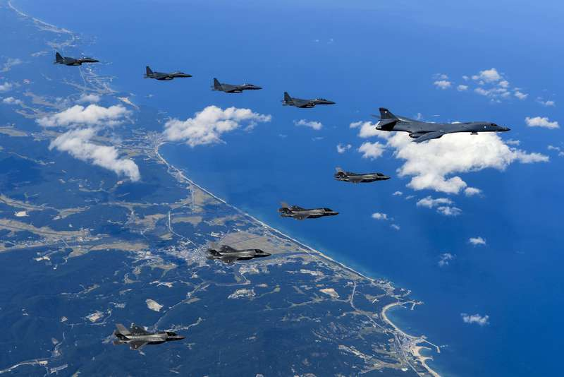 us airforce n korea