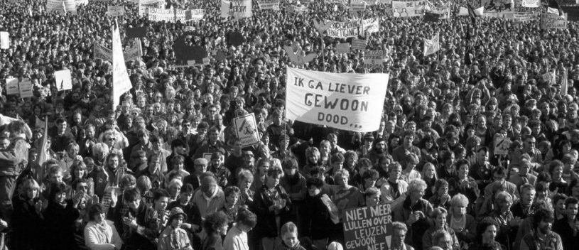 demo malieveld 1983