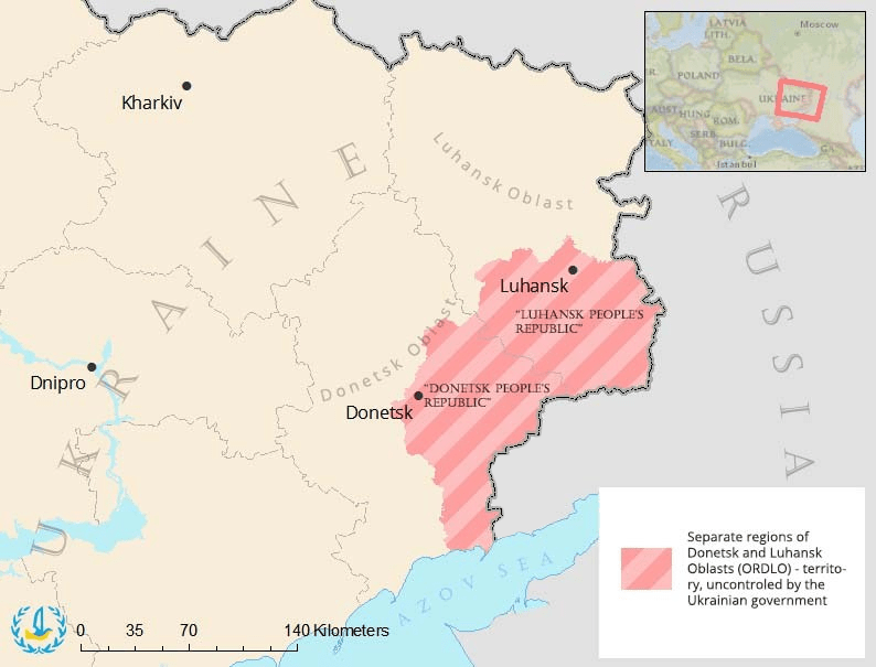 oekraine dnr lnr map picture euromaidan press