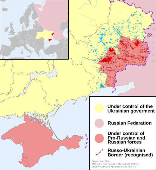 screenshot 2019 06 09 2014 russo ukrainian conflict map russian military intervention in ukraine 2014present wikipedia
