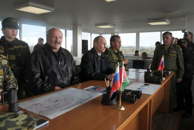 Military execises Belarus