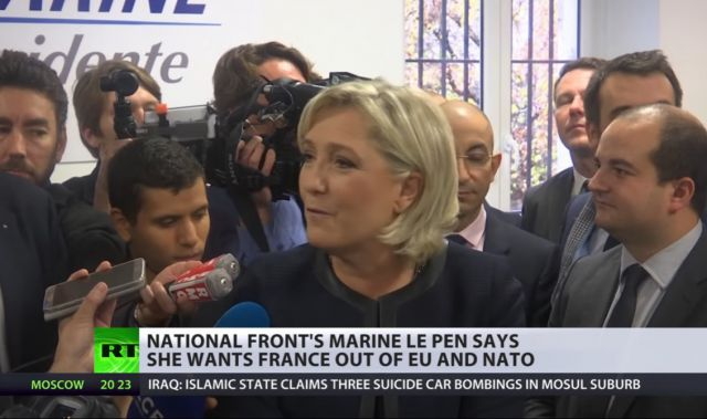 Marine le Pen RT
