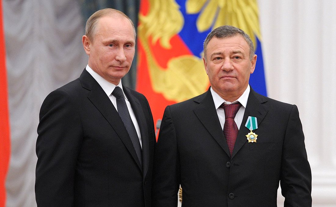 Vladimir Putin and Arkady Rotenberg