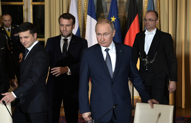 normandy format summit president of russia