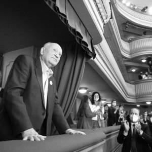 Uniek in Rusland: applaus voor Gorbatsjov