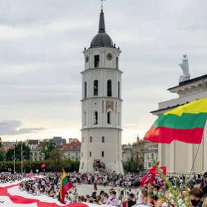 Vilnius bruist van Wit-Russische oppositie in ballingschap