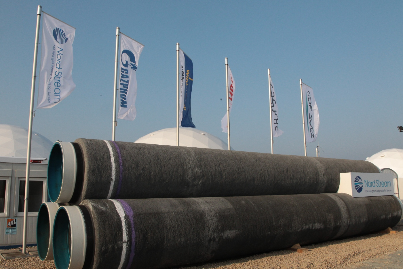 nordstream gp pipes