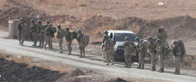 Turkish troops in Syria